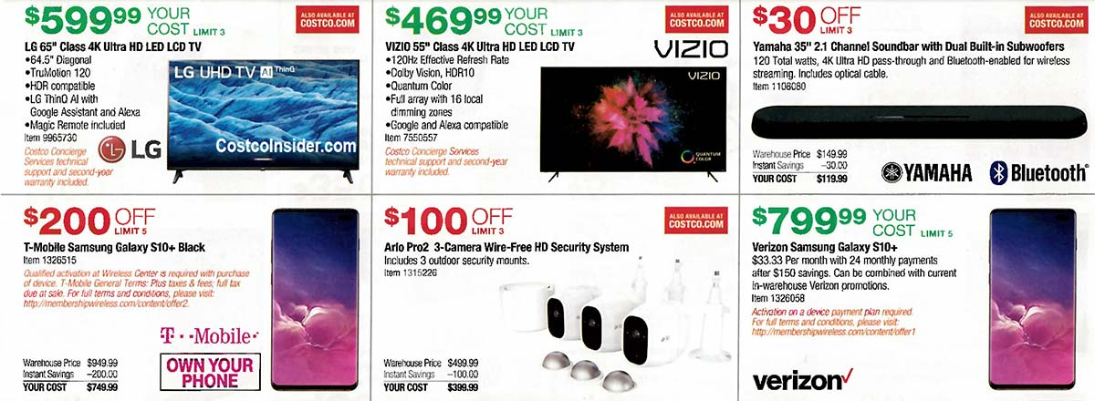 Costco August 2019 Coupon Book Page 10