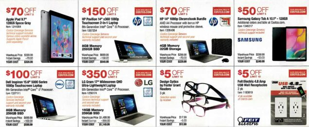Costco August 2019 Coupon Book Page 11