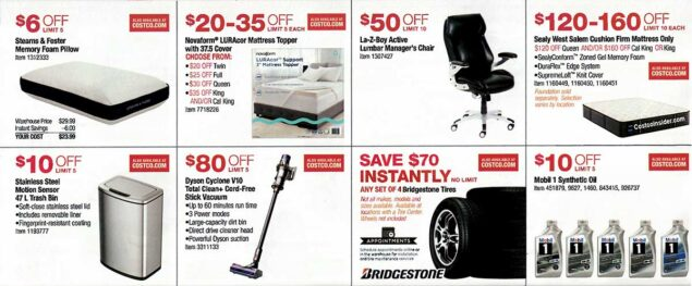 Costco August 2019 Coupon Book Page 13