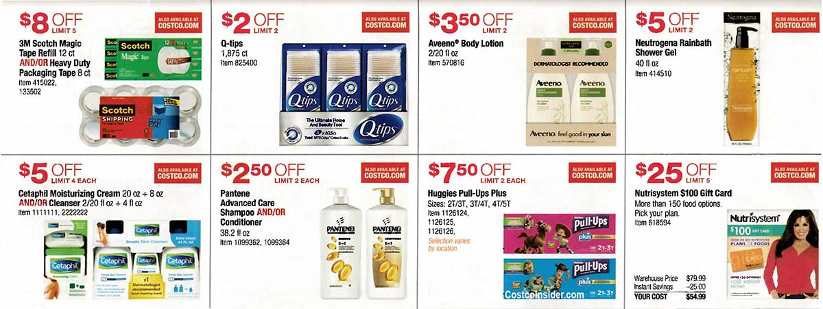 Costco August 2019 Coupon Book Page 14