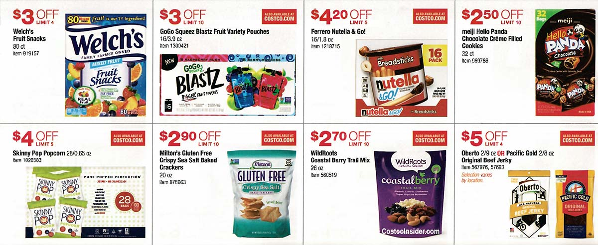 Costco August 2019 Coupon Book Page 17