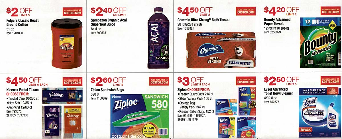 Costco August 2019 Coupon Book Page 19