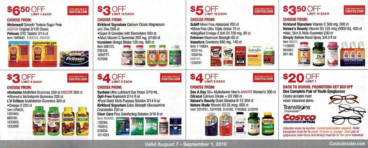 Costco August 2019 Coupon Book Page 23