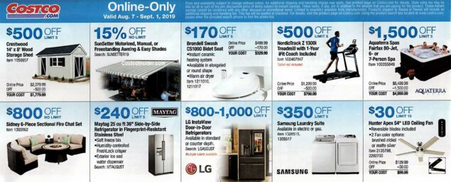 Costco August 2019 Coupon Book Page 24