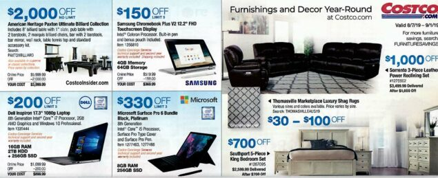 Costco August 2019 Coupon Book Page 25