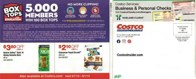 Costco August 2019 Coupon Book Page 27