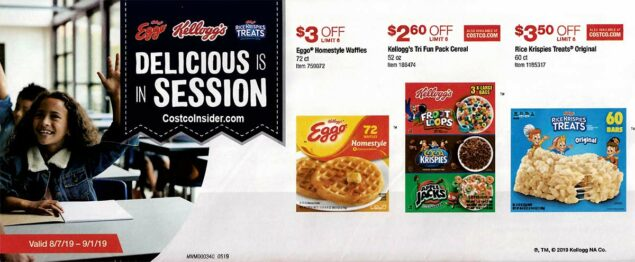 Costco August 2019 Coupon Book Page 3