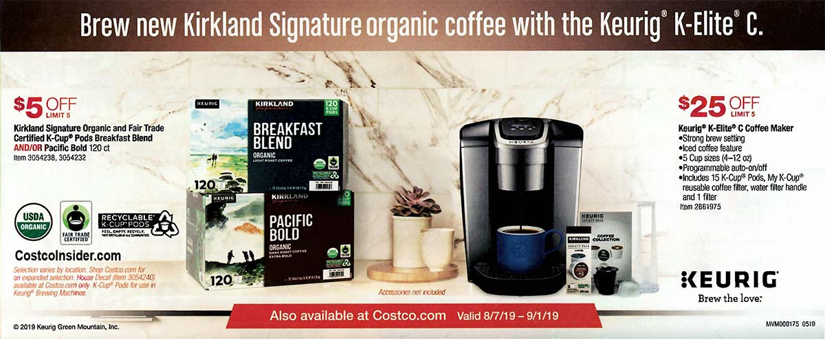 Costco August 2019 Coupon Book Page 7