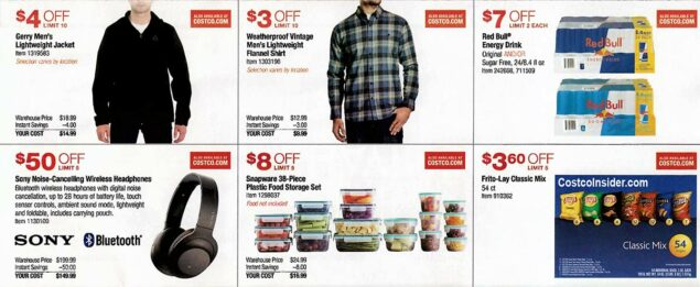 Costco August 2019 Coupon Book Page 9