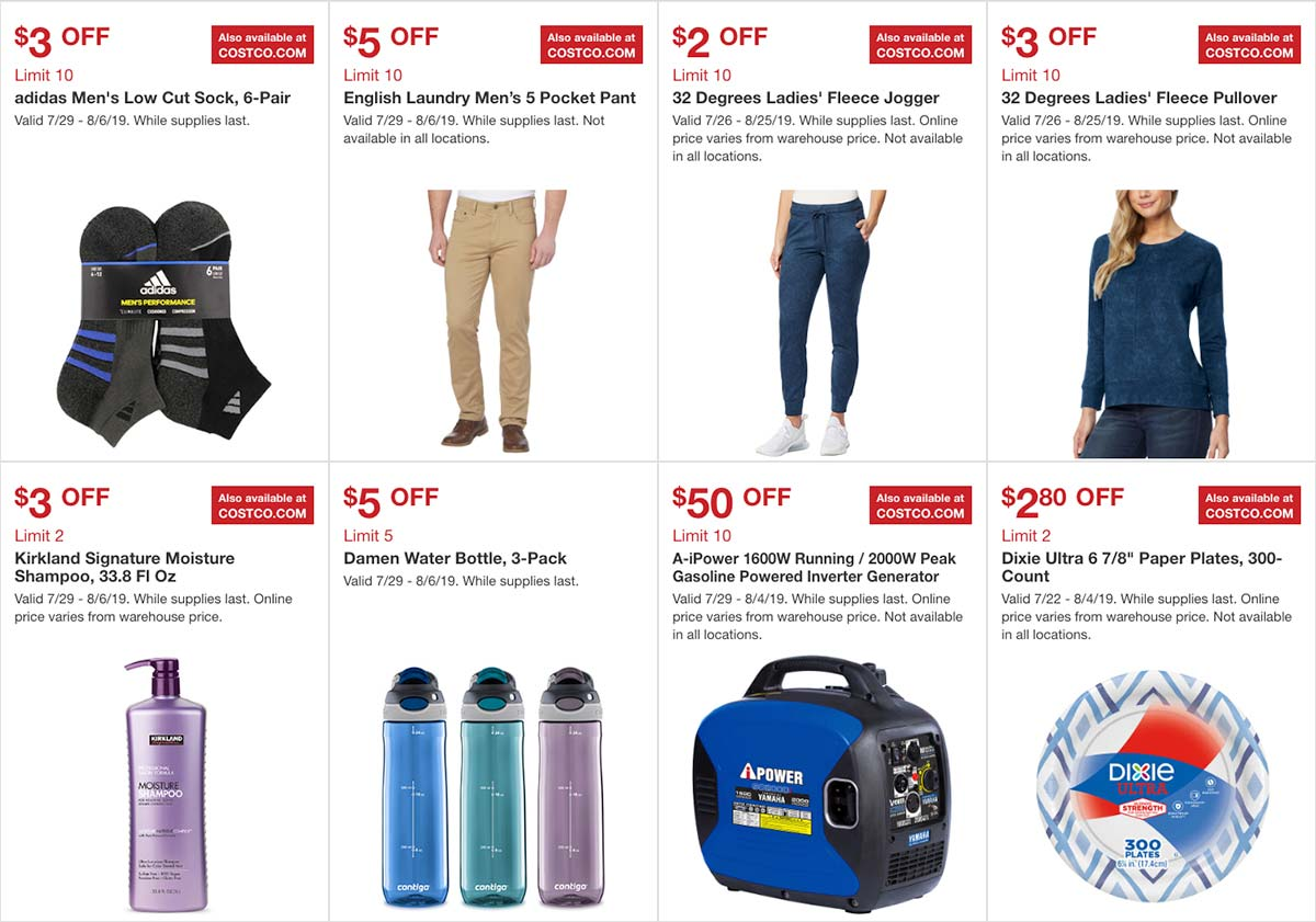 Costco August 2019 Hot Buys Page 3