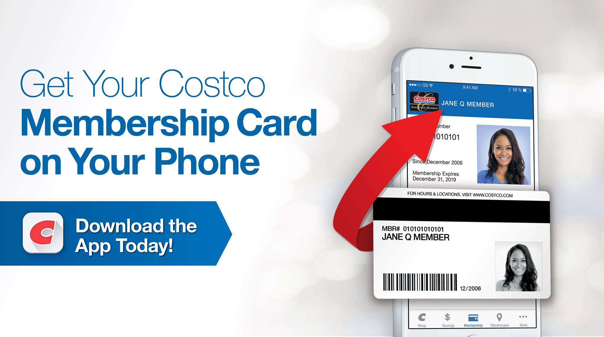 Costco Digital Membership Card