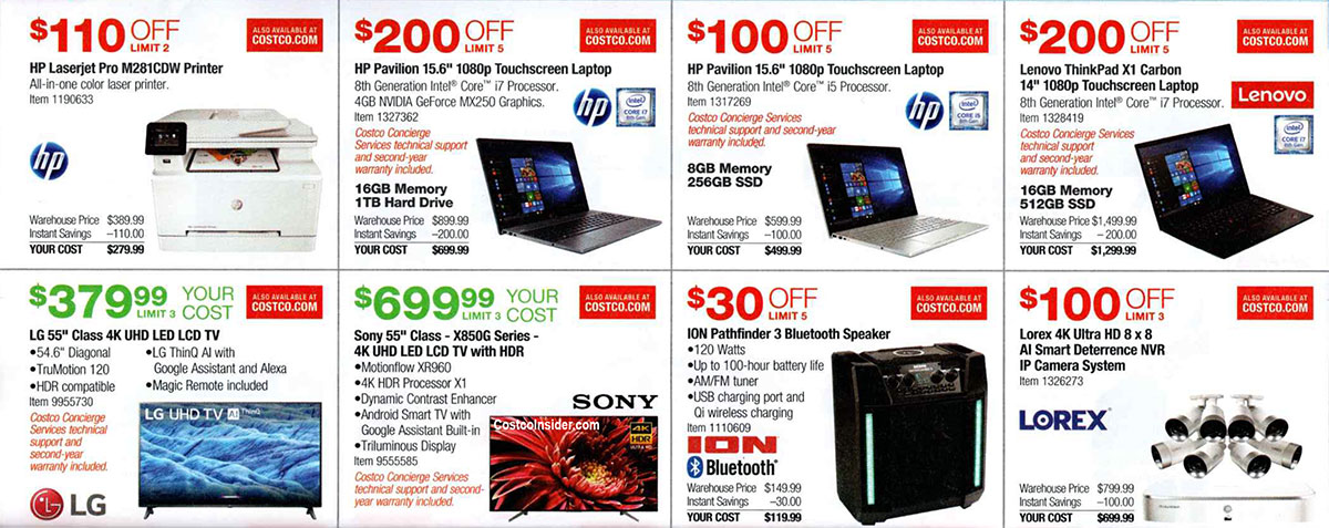 Costco September 2019 Coupon Book Page 11