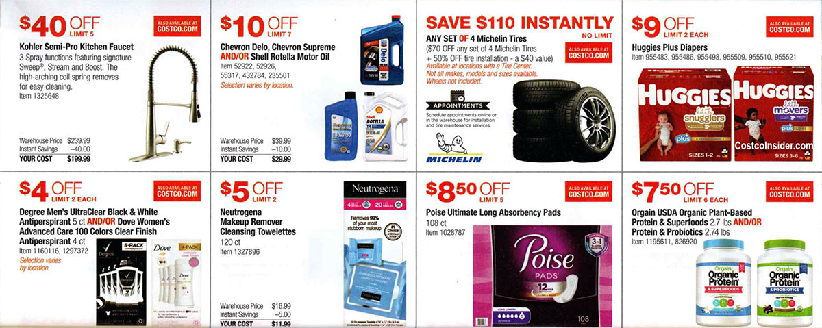 Costco September 2019 Coupon Book Page 13