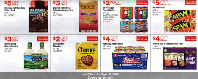 Costco September 2019 Coupon Book Page 16