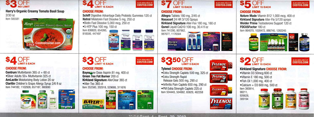 Costco September 2019 Coupon Book Page 20