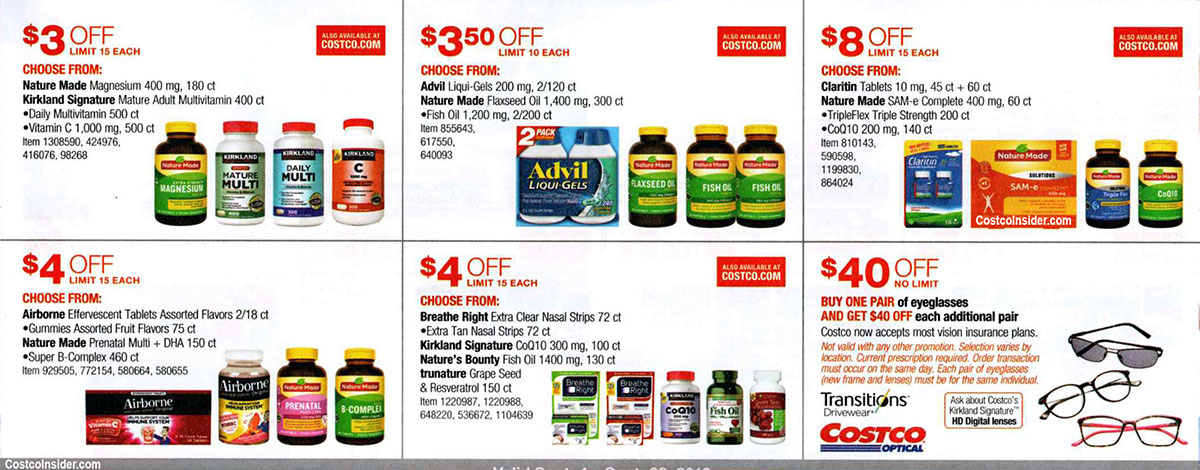 Costco September 2019 Coupon Book Page 21