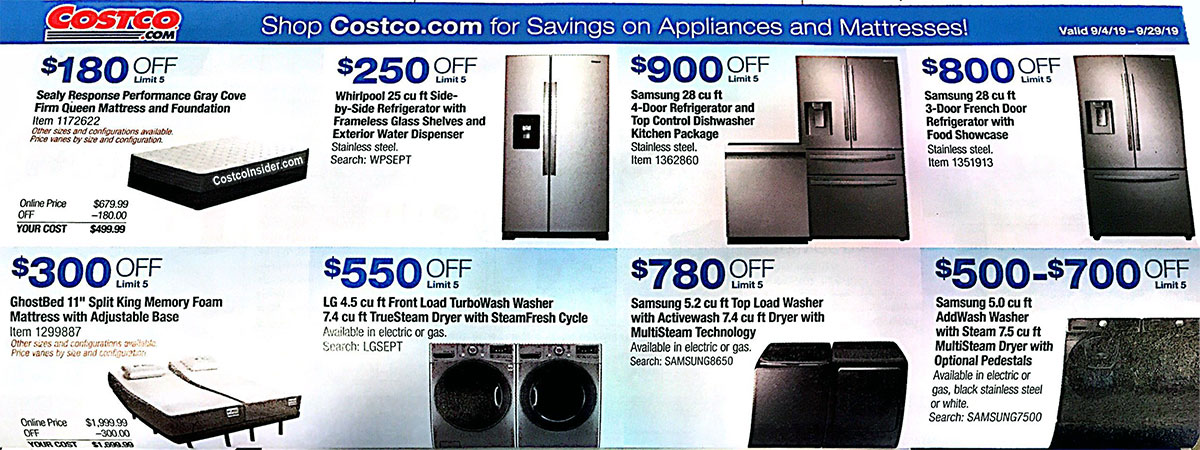 Costco September 2019 Coupon Book Page 23
