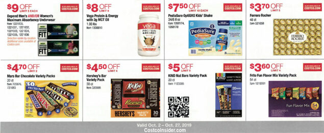 Costco October 2019 Coupon Book Page 12