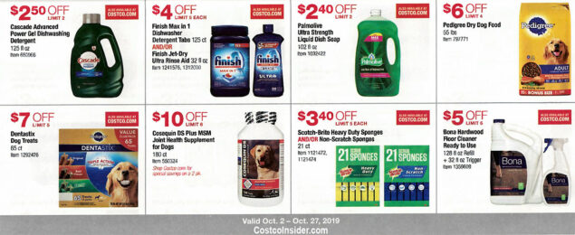 Costco October 2019 Coupon Book Page 16