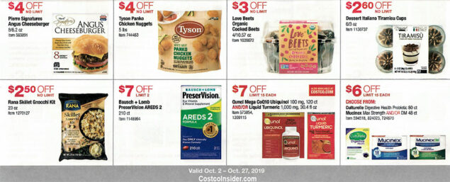 Costco October 2019 Coupon Book Page 18