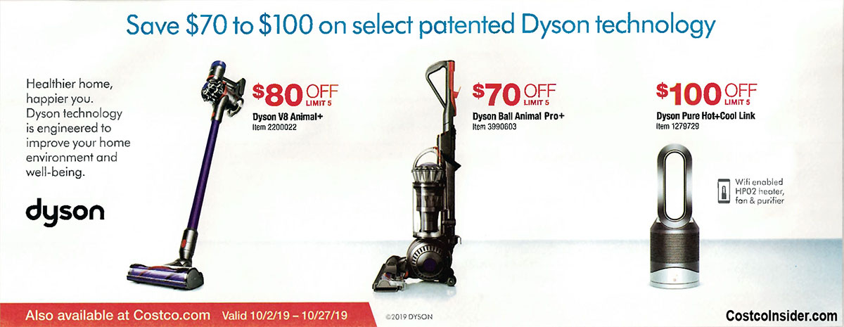 Costco October 2019 Coupon Book Page 22