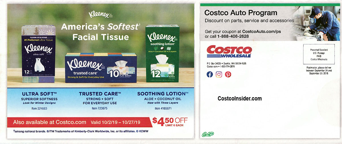 Costco October 2019 Coupon Book Page 23