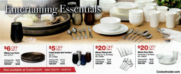 Costco October 2019 Coupon Book Page 4