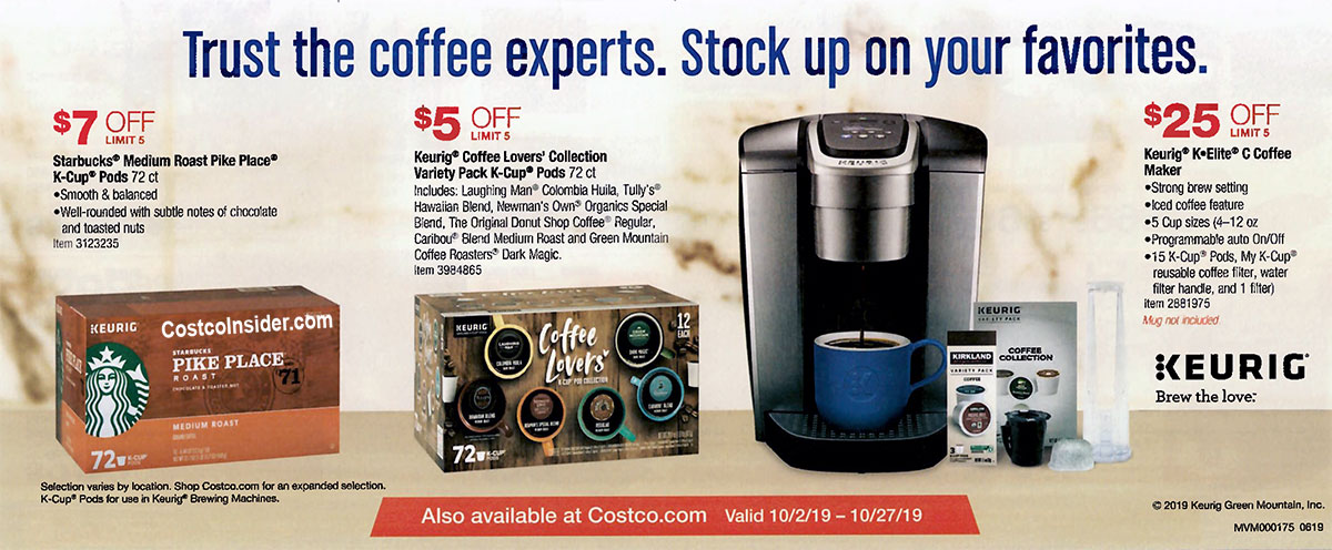 Costco October 2019 Coupon Book Page 6