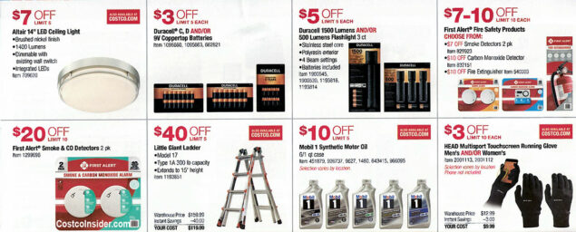 Costco October 2019 Coupon Book Page 9