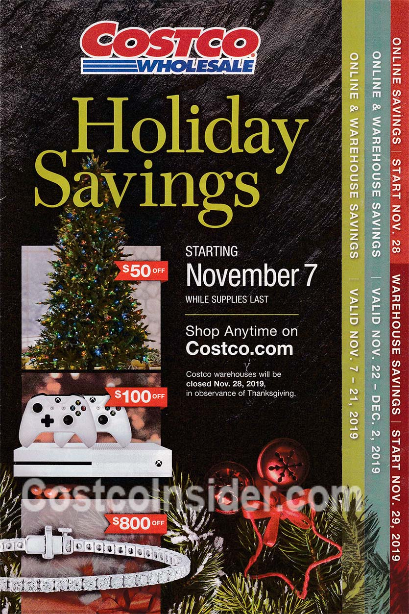 Costco Black Friday Ad 2019 Cover