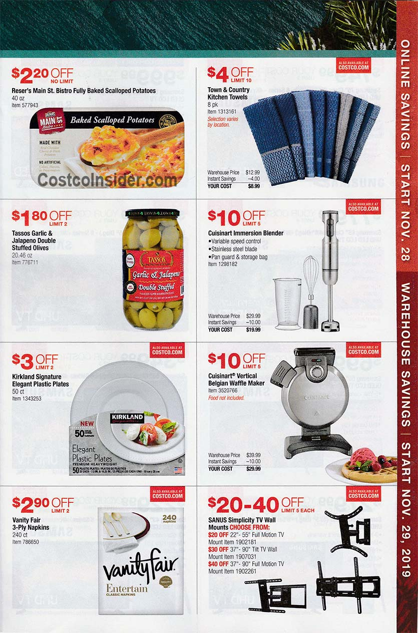 Costco Black Friday Ad 2019 Page 12