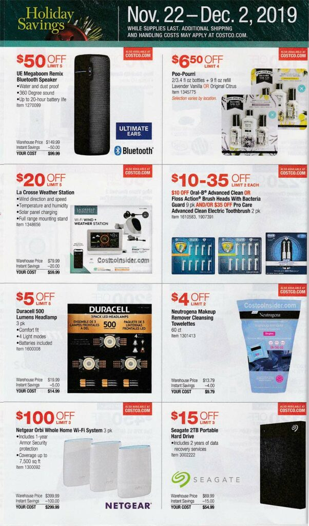 Costco Black Friday Ad 2019 Page 19