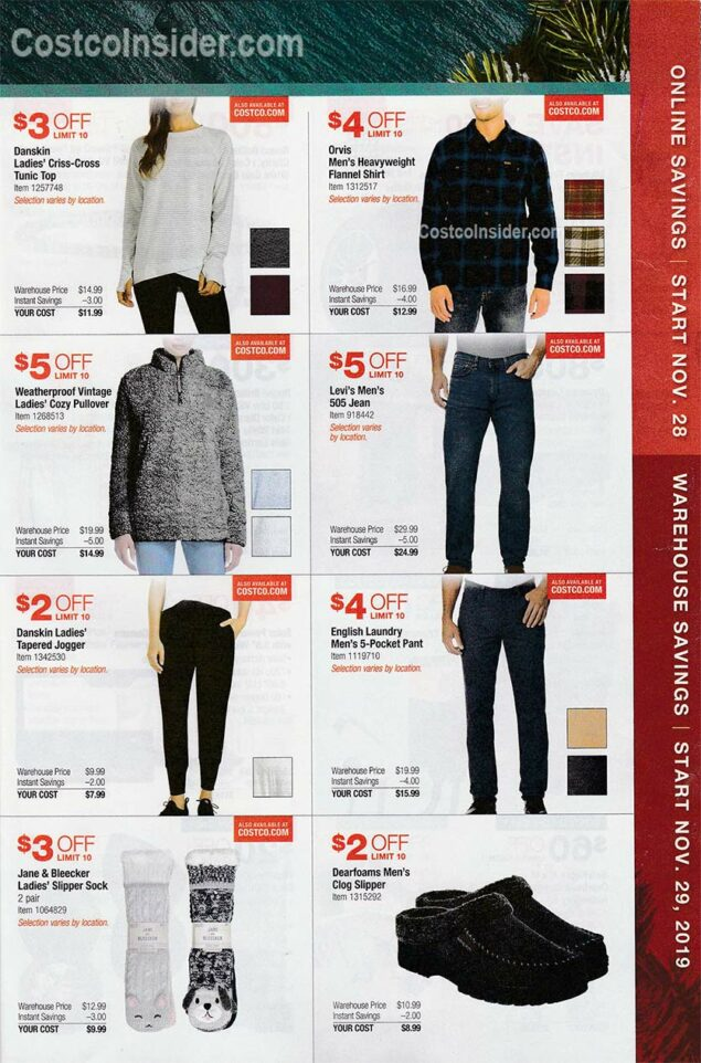 Costco Black Friday Ad 2019 Page 20