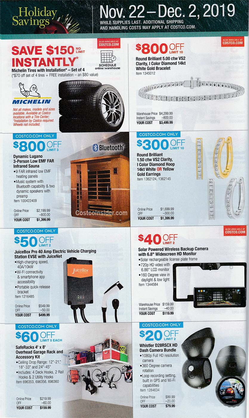 Costco Black Friday Ad 2019 Page 21