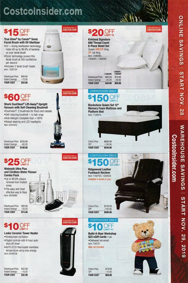 Costco Black Friday Ad 2019 Page 22