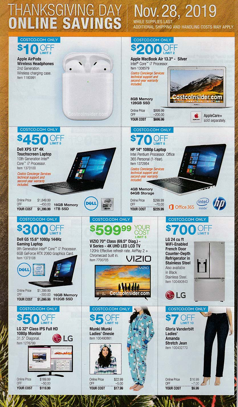 Costco Black Friday Ad 2019 Page 23