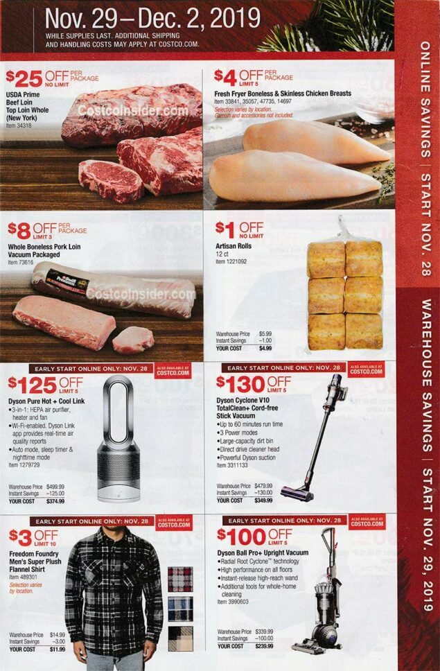 Costco Black Friday Ad 2019 Page 24
