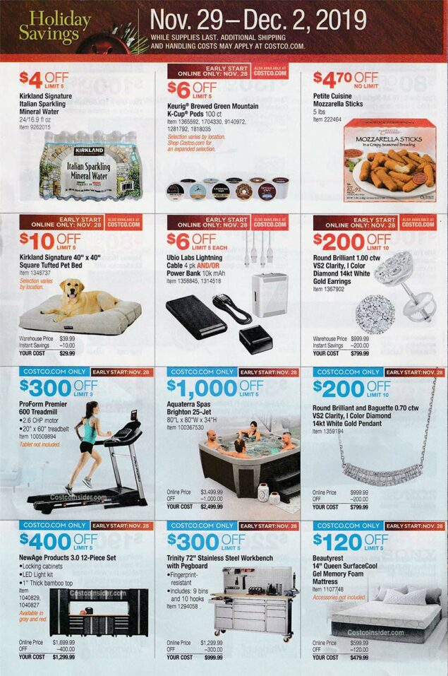 Costco Black Friday Ad 2019 Page 29