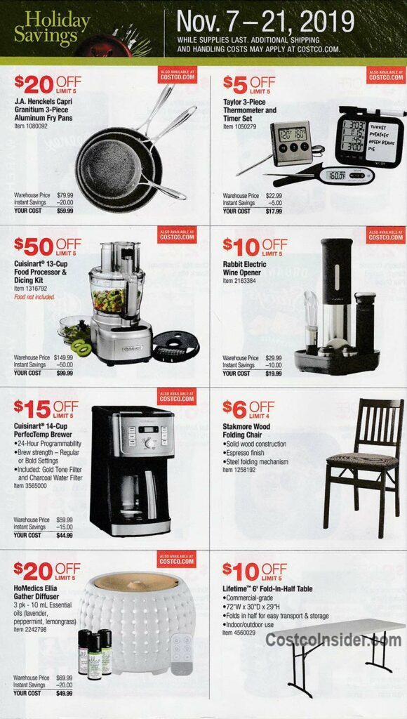 Costco Black Friday Ad 2019 Page 3