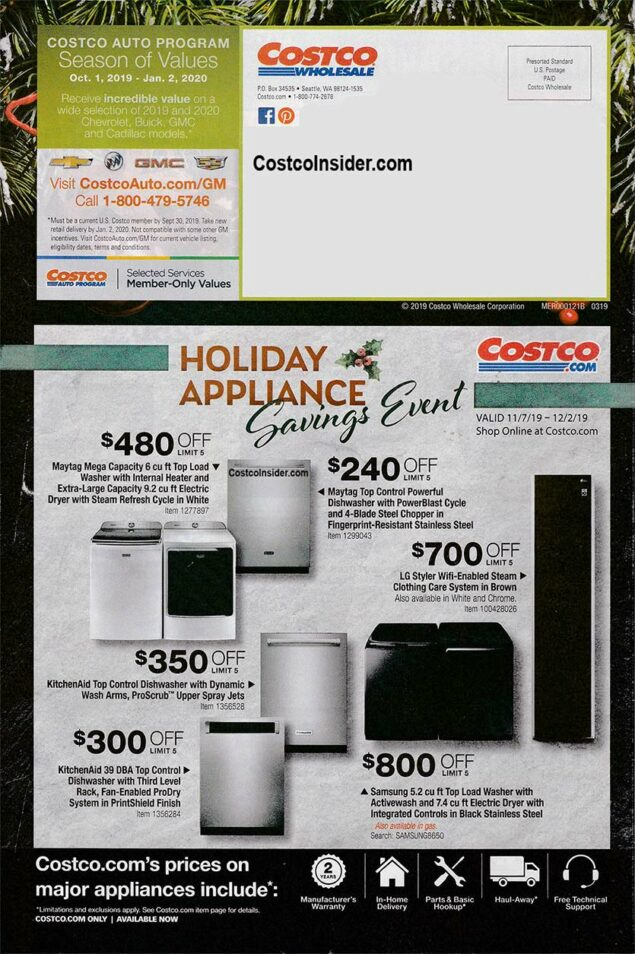 Costco Black Friday Ad 2019 Page 31