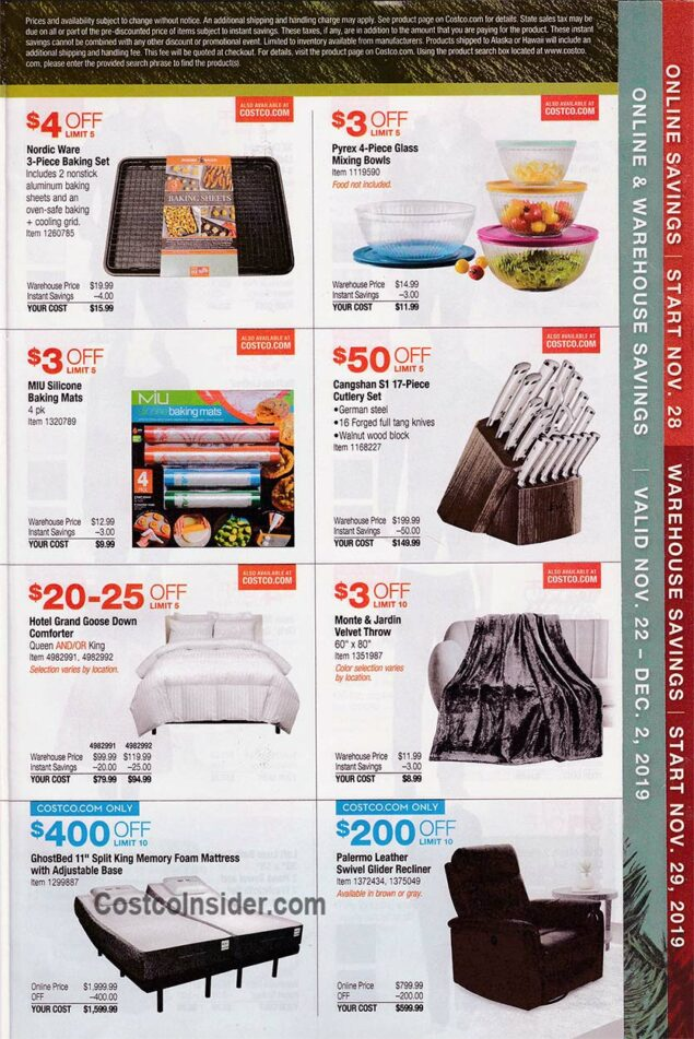 Costco Black Friday Ad 2019 Page 4
