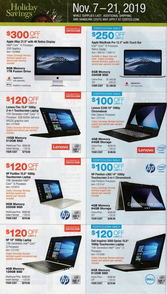 Costco Black Friday Ad 2019 Page 7