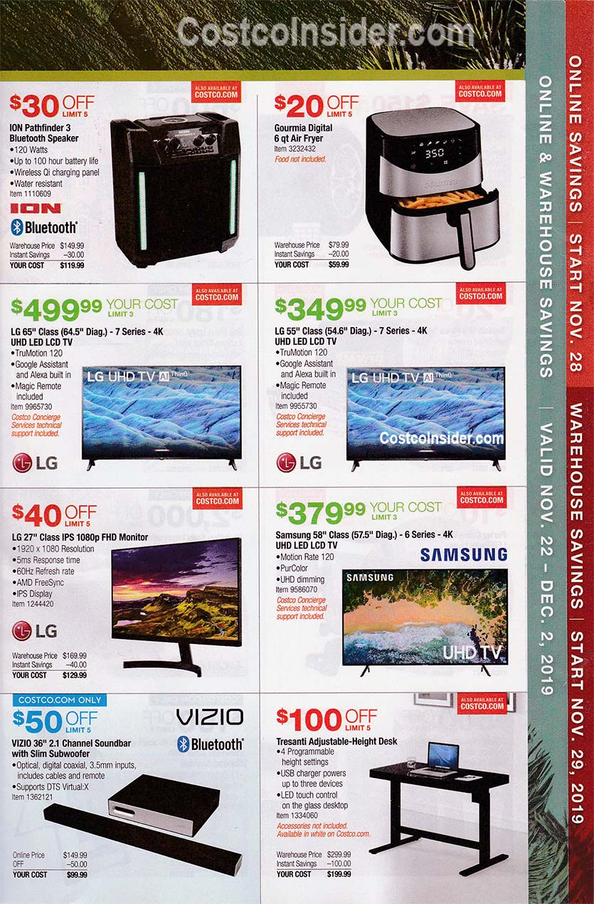 Costco Black Friday Ad 2019 Page 8