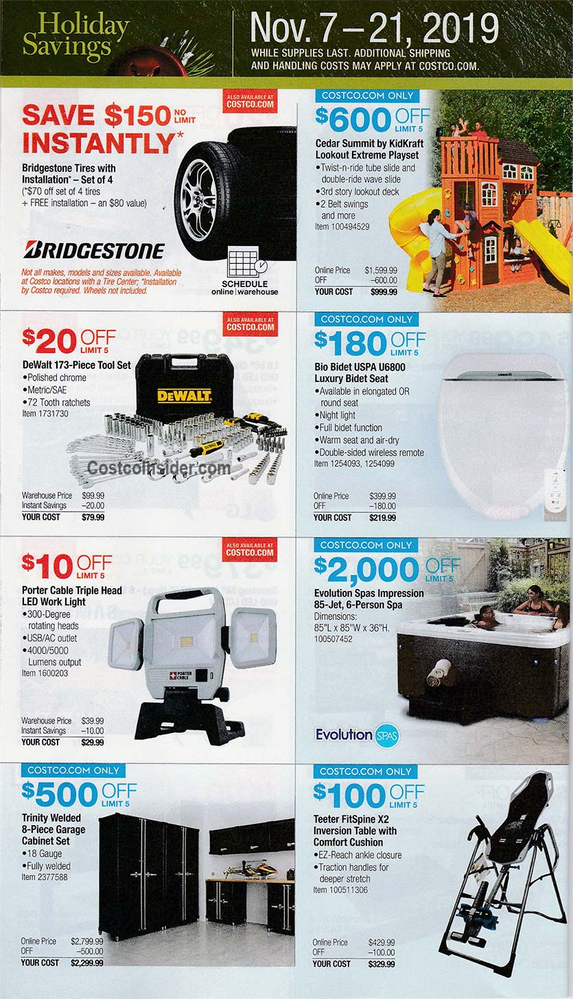Costco Black Friday Ad 2019 Page 9
