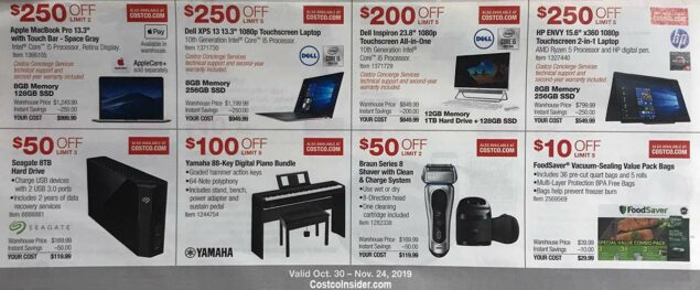 Costco November 2019 Coupon Book Page 10
