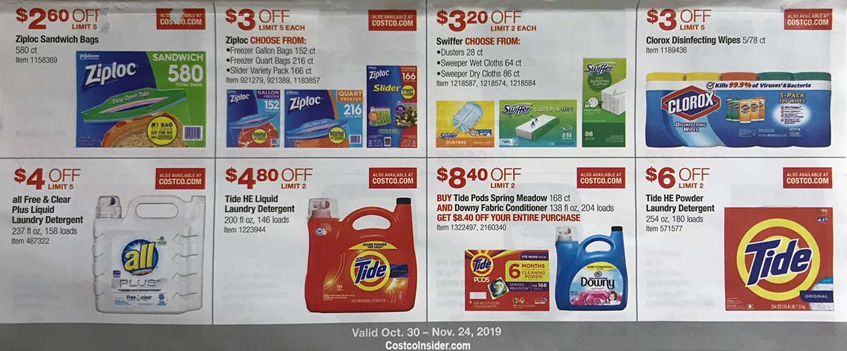 Costco November 2019 Coupon Book Page 16