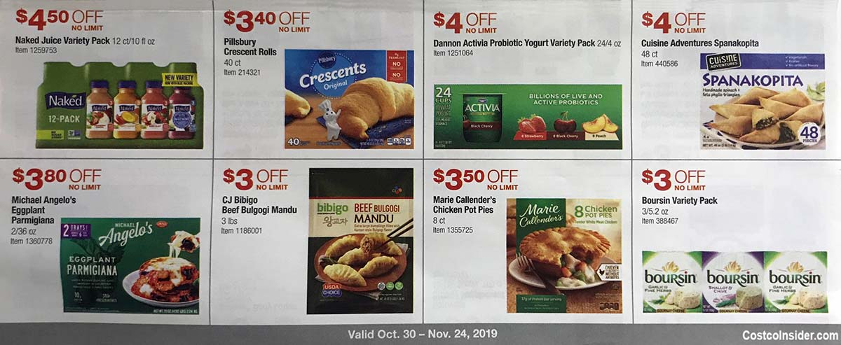 Costco November 2019 Coupon Book Page 18
