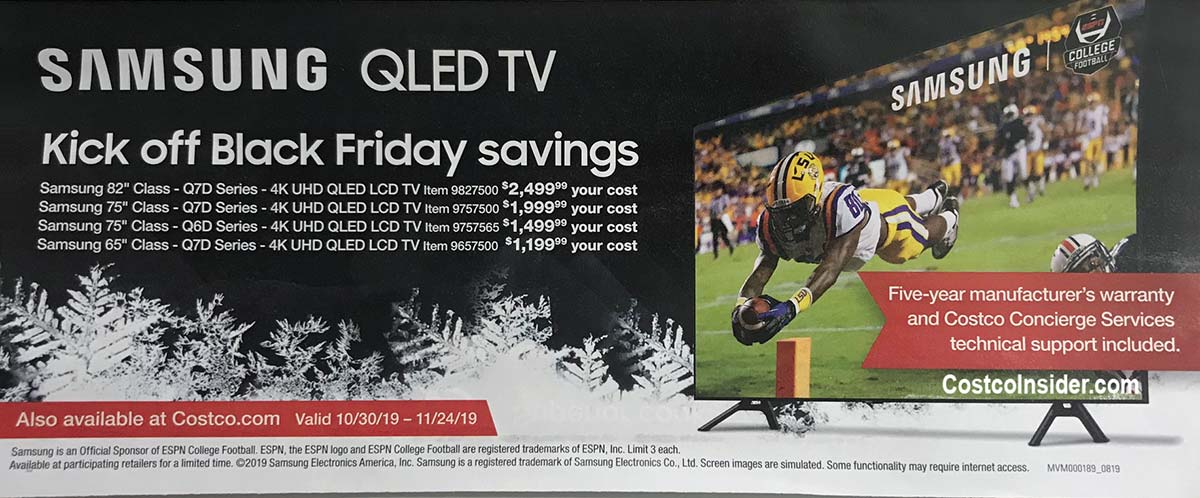 Costco November 2019 Coupon Book Page 2