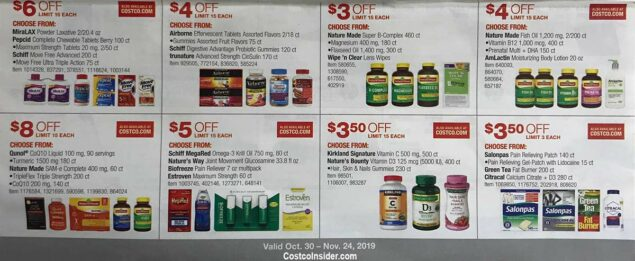 Costco November 2019 Coupon Book Page 20