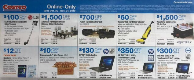 Costco November 2019 Coupon Book Page 21